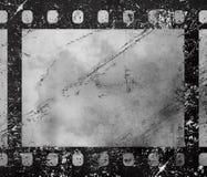 老葡萄酒减速火箭的35 mm难看的东西胶卷画面 库存图片