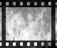老葡萄酒减速火箭的35 mm难看的东西胶卷画面 免版税库存照片