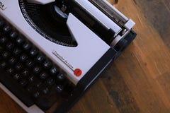 葡萄酒打字机 库存照片
