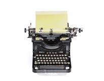 老葡萄酒打字机 免版税库存照片
