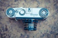 老葡萄酒照相机 免版税库存照片