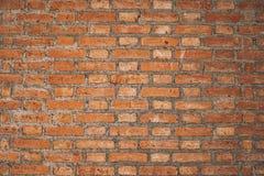 老葡萄酒砖墙纹理设计 倒空介绍和网络设计的红砖背景 很多空间为 库存照片