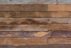 老葡萄酒脏的红褐色的木背景纹理:难看的东西 免版税图库摄影
