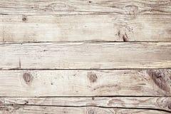 老葡萄酒退了色自然木背景纹理 免版税库存照片