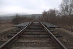 老葡萄酒铁路 库存照片