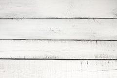 老葡萄酒planked木头被绘的白的背景 库存照片