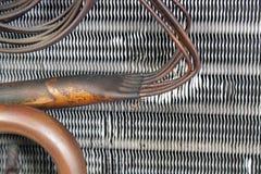 老蒸发器旋管(13) 免版税库存照片