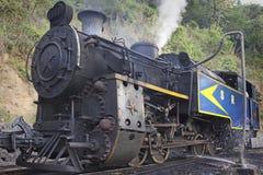 老蒸汽引擎 免版税库存图片