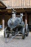 老蒸汽机器 库存图片