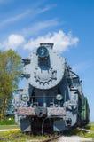 老蒸汽机车培训 图库摄影