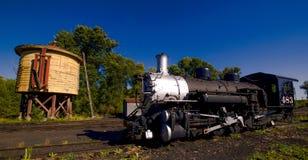 老蒸汽机车 库存照片