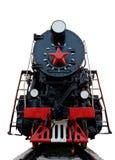 老蒸汽机车 图库摄影