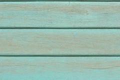 老蓝色木墙壁背景 库存照片