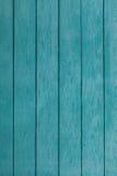 老蓝色木篱芭 免版税库存照片