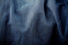 老蓝色背景牛仔布牛仔裤背景牛仔裤构造织品细节 库存图片