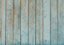 老蓝色被绘的木纹理 库存图片