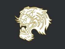 老虎商标 免版税库存图片