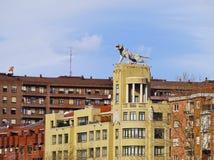 老虎大厦在毕尔巴鄂 免版税库存照片