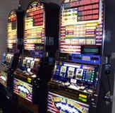老虎机在大西洋城新泽西 免版税图库摄影