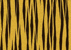 老虎纹理背景 向量例证
