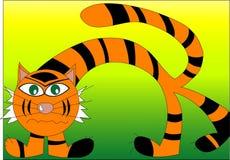 老虎 向量例证