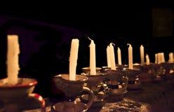老蜡烛 库存图片