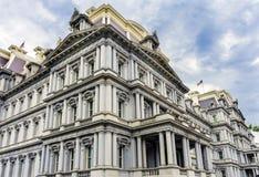 老行政办公室建立华盛顿特区的艾森豪威尔 免版税库存图片
