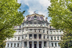 老行政办公室建立华盛顿特区的艾森豪威尔 库存图片