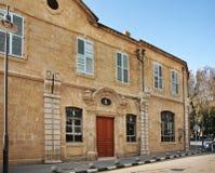 老街道在尼科西亚 塞浦路斯 图库摄影