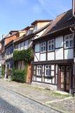 老街道在德国 免版税库存图片