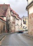 老街道城镇维尔纽斯 免版税库存照片