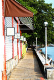 老街道淡水厅 库存照片