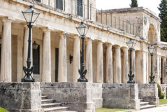 老街道,科孚岛镇 库存图片
