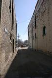老街道 免版税图库摄影
