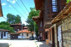 老街道Koprivshtitsa 库存照片