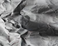 老被弄皱的纸背景 免版税图库摄影