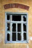 老被打碎的视窗 图库摄影