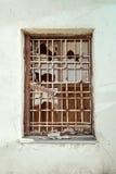 老被打碎的视窗 库存照片
