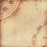 老被撕毁的被弄皱的纸 背景几何老装饰品纸张葡萄酒 免版税库存照片