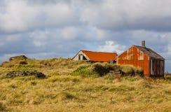老被放弃的农场 免版税库存图片