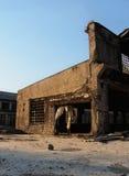 老被放弃的工厂 图库摄影