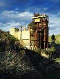 老被放弃的硫磺矿03 免版税图库摄影