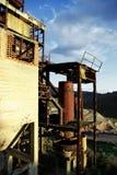 老被放弃的硫磺矿15 图库摄影