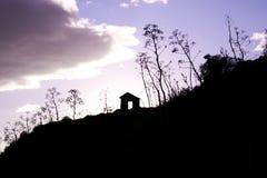 老被放弃的硫磺矿10 免版税图库摄影