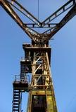 老被放弃的硫磺矿12 免版税库存照片