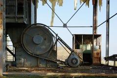 老被放弃的硫磺矿13 免版税库存图片