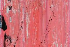 老被构造的难看的东西和生锈的墙壁 库存照片