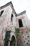 老被破坏的犹太教堂大厦在维丁,保加利亚 库存图片