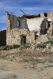 老被粉碎的房子 库存图片