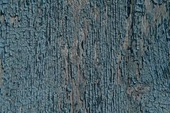 老被绘的木墙壁-纹理或背景 库存照片